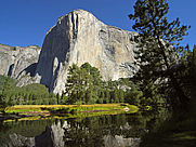 Author photo. El Capitan and Merced River, Yosemite National Park, California <a href=&quot;http://www.pdphoto.org&quot;>pdphoto.org</a>