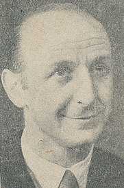 Author photo. Cropped scan of back cover of Penguin No.612. Unattributed image.