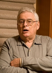Author photo. Jerry Fodor at his reception dinner on November 7, 2007 during his visit to the University of Maryland. Photo by Pedro Alcocer.