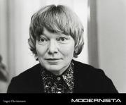 Author photo. Inger Christensen - Modernista