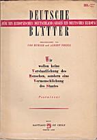 Deutsche Blätter. Heft 29. Viertes Jahr by…