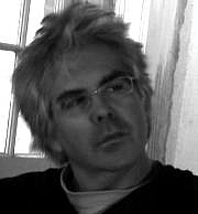 Author photo. David Bienn on rue Chartres in New Orleans, 2005