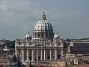 Author photo. St. Peter's Basilica, Vatican City (Photo credit: Wolfgang Stuck, Sept. 2004)