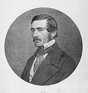 Author photo. From 1861 title page (Courtesy of the <a href=&quot;http://digitalgallery.nypl.org/nypldigital/id?1247185&quot;>NYPL Digital Gallery</a>;image use requires permission from the New York Public Library)
