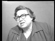 Author photo. Estelle Jussim in a 1979 interview with Amy Amdur