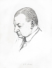 Author photo. Drawing by Quiz (Powys Evans), at <a href=&quot;http://www.chrisbeetles.com/gallery/picture.php?pic=18227&quot; rel=&quot;nofollow&quot; target=&quot;_top&quot;>Chrisbeetles.com</a>