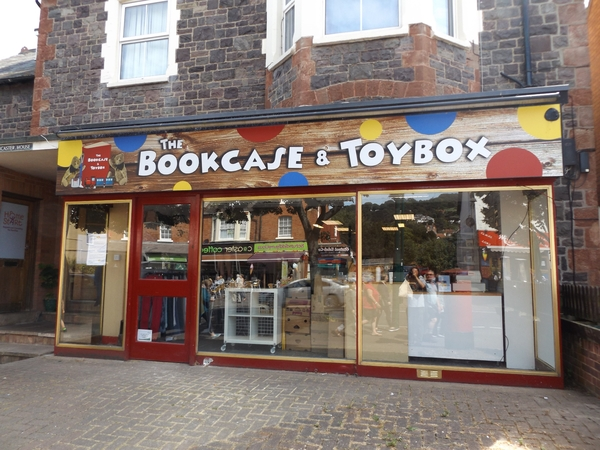The Bookcase Toybox In Mionehead Somerset Librarything