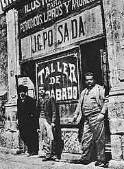 Author photo. Jose Posada (right),Photographer unknown.