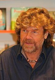 Author photo. Reinhold Messner in Köln