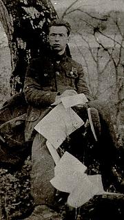 Author photo. Mart Raud 1920