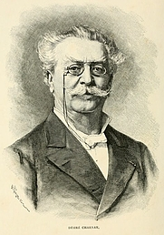 Author photo. Image from <b><i>The Ancient Cities of the New World</i></b> (1887) by Désiré Charnay