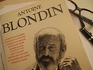 Author photo. Antoine Blondin - French Writer - Member of the Hussard literary group