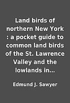 Land birds of northern New York : a pocket…