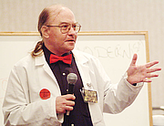 Author photo. John M. Ford, 2003.  Photo by David Dyer-Bennet / Wikimedia Commons.