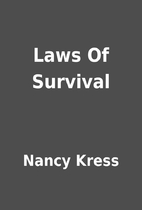 Laws Of Survival by Nancy Kress