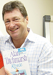 Author photo. Alan Titchmarsh at a Border's book signing By Phil Guest <a href=&quot;http://www.flickr.com/photos/philip-rosie&quot; rel=&quot;nofollow&quot; target=&quot;_top&quot;>http://www.flickr.com/photos/philip-rosie</a> (cropped by Heligoland) [CC-BY-SA-2.0 (<a href=&quot;http://www.creativecommons.org/licenses/by-sa/2.0&quot; rel=&quot;nofollow&quot; target=&quot;_top&quot;>www.creativecommons.org/licenses/by-sa/2.0</a>)], via Wikimedia Commons