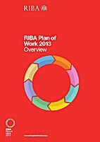 RIBA Plan of Work 2013 by RIBA