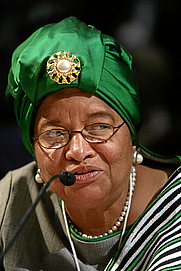 Author photo. Ellen Johnson Sirleaf. Photo by <a href=&quot;http://www.swiss-image.ch&quot; rel=&quot;nofollow&quot; target=&quot;_top&quot;>www.swiss-image.ch</a>/Remy Steinegger.