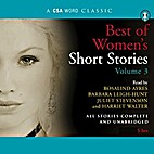 Best of Women's Short Stories, Volume 3 by…