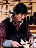 "Author photo. from the cover of ""Jim Tolpin's Woodworking: Wit & Wisdom"""
