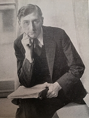 Author photo. Photo from 1945 (Poetry since 1939, British Council)