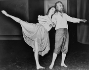 """Author photo. Suzanne Farrell and George Balanchine <br>dancing in a segment of """"Don Quixote"""", 1965, <br>World Telegram & Sun photo by O. Fernandez <br>(Library of Congress Prints and Photographs Division, <br>LC-USZ62-129045)"""