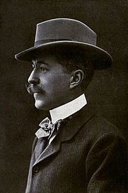 Author photo. Image from <b><i>Through savage Europe</i></b> (1907) by Harry De Windt