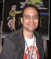 Author photo. Comic book creator Andrew Pepoy, at the New York Comic Convention in Manhattan, October 9, 2010. Photo by Luigi Novi. By Luigi Novi, CC BY 3.0, <a href=&quot;//commons.wikimedia.org/w/index.php?curid=11796984&quot; rel=&quot;nofollow&quot; target=&quot;_top&quot;>https://commons.wikimedia.org/w/index.php?curid=11796984</a>