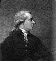 Author photo. William Gerard Hamilton. Frontispiece from Parliamentary logick: to which are subjoined two speeches, delivered in the House of Commons of Ireland, and other pieces (1808)