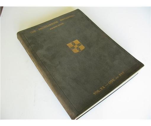 Encyclopaedia Britannica, anyone?   Folio Society devotees