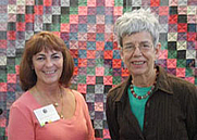 Author photo. Patricia T. Herr on the right