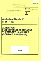 AS 2131 - 1987: Adhesives - for Bonding…