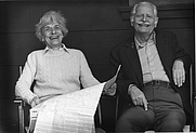 Author photo. Louise and Willard Espy, 1981
