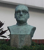Author photo. Bust of Óscar Romero, San Salvador. Photo by user Zuma / Wikipedia.