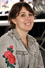 """Author photo. Author Kristen Roupenian at the 2019 Texas Book Festival in Austin, Texas, United States. By Larry D. Moore, CC BY-SA 4.0, <a href=""""https://commons.wikimedia.org/w/index.php?curid=83622115"""" rel=""""nofollow"""" target=""""_top"""">https://commons.wikimedia.org/w/index.php?curid=83622115</a>"""