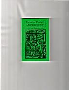 Tarascon Pocket Pharmacopoeia by Tarascon…