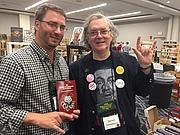 Author photo. Darrell Schweitzer (right)
