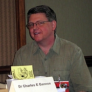 Author photo. Charles E. Gannon at Lunacon 2012