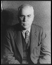 Author photo. Albert Coombs Barnes (1872-1951) Photo by Carl Van Vechten, Oct. 20, 1937 (Library of Congress Prints and Photographs Division, Digital ID: van 5a51699)