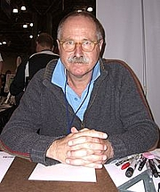 "Author photo. <a href=""http://it.wikipedia.org/wiki/Brian_Bolland"" rel=""nofollow"" target=""_top"">http://it.wikipedia.org/wiki/Brian_Bolland</a>"