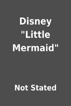 Disney Little Mermaid by Not Stated