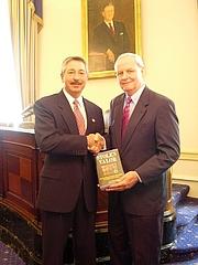 Author photo. Congressman John Salazar meets B.G. Burkett, author of &quot;Stolen Valor.&quot; By Office of U.S. John Salazar (D-Colorado) - <a href=&quot;http://www.house.gov/salazar/gallery/003.shtml&quot; rel=&quot;nofollow&quot; target=&quot;_top&quot;>http://www.house.gov/salazar/gallery/003.shtml</a>, Public Domain, <a href=&quot;https://commons.wikimedia.org/w/index.php?curid=12559377&quot; rel=&quot;nofollow&quot; target=&quot;_top&quot;>https://commons.wikimedia.org/w/index.php?curid=12559377</a>