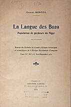 La langue des Bozo: Population de pêcheurs…