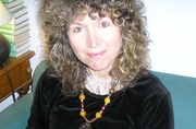 Author photo. Caroline Lawrence