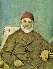 Author photo. Ahmad Faris Shidyaq [1805/6 - 1887] portrait