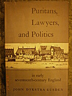 Puritans, Lawyers, and Politics in Early…