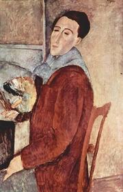 Author photo. Amedeo Modigliani.  1919
