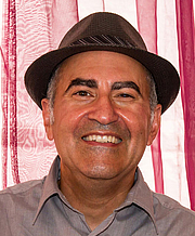 Author photo. Rafael Ocasio. Photo by James Diedrick.