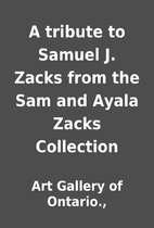 A tribute to Samuel J. Zacks from the Sam…