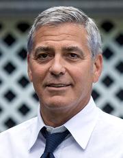 Author photo. George Clooney